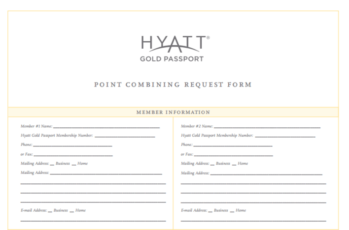 Hyatt Point Combining Form