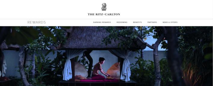 Ritz Carlton rewards program