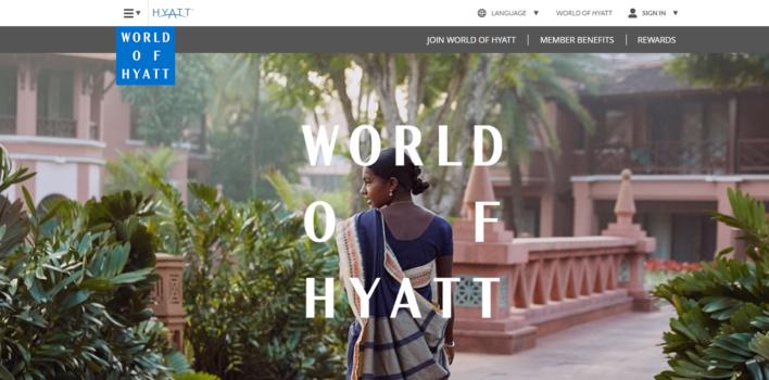 world of hyatt loyalty program