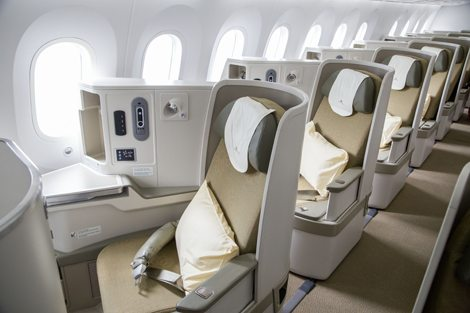 Vietnam Airlines' business class