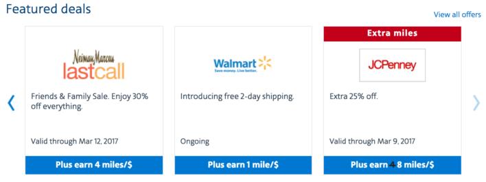 AAdvantage Shopping