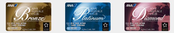 ANA Mileage Club Status