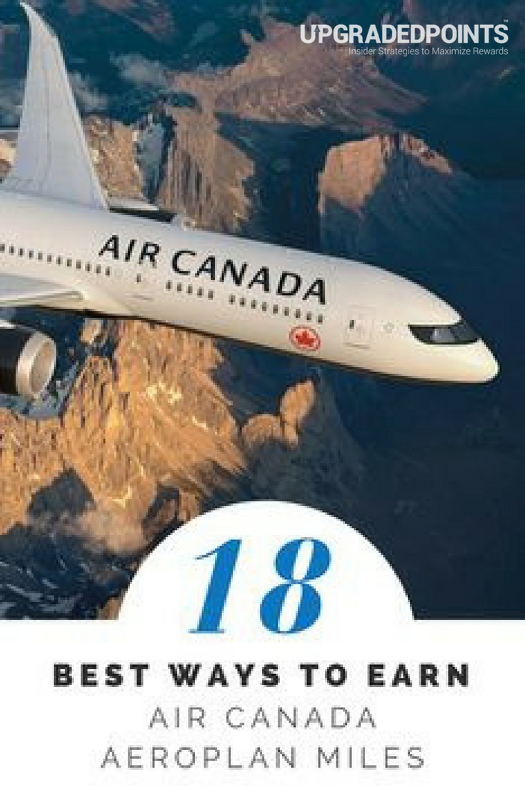 Best Ways To Earn Air Canada Miles