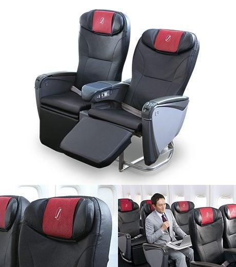 JAL, J Class Seat