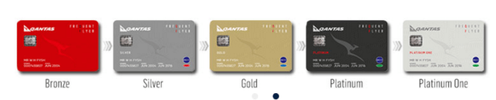 qantas frequent flyer elite status levels