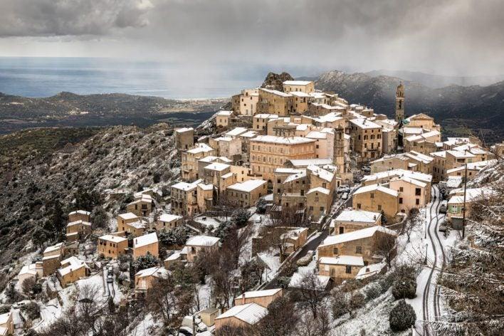 Speloncato Village Corsica
