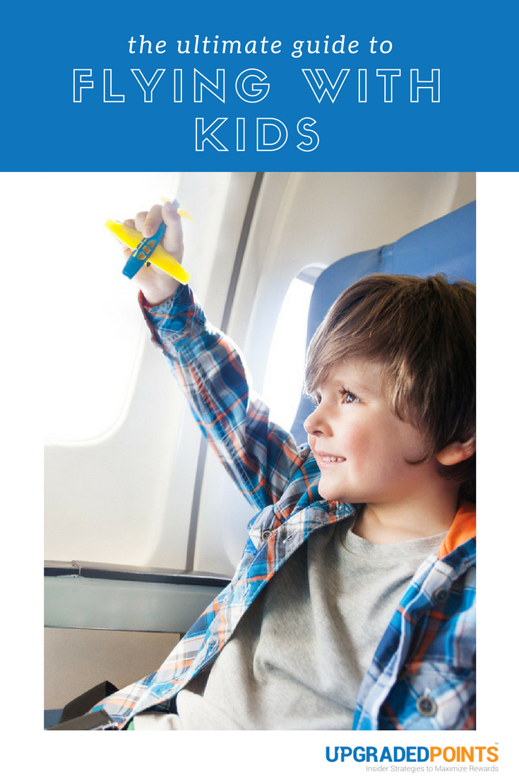 Flying With Children - The Ultimate Guide To Less Stressful Flights