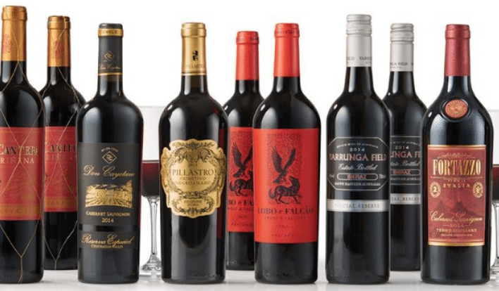 Virgin America Flying Club Wines