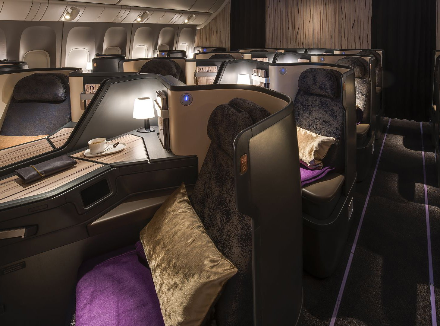 Classe Executiva da China Airlines