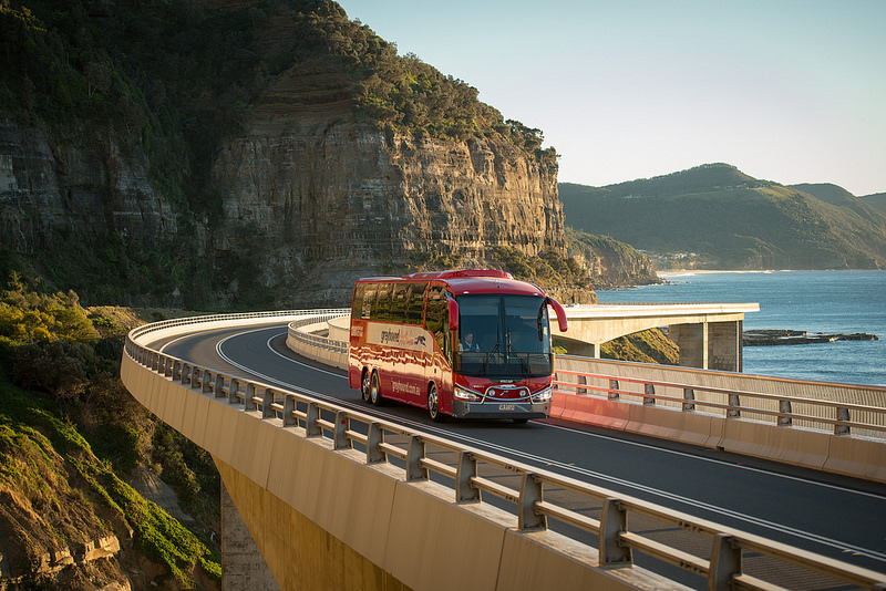 Greyhound Bus Tour
