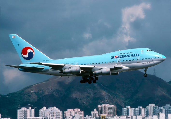 Korean Air 747