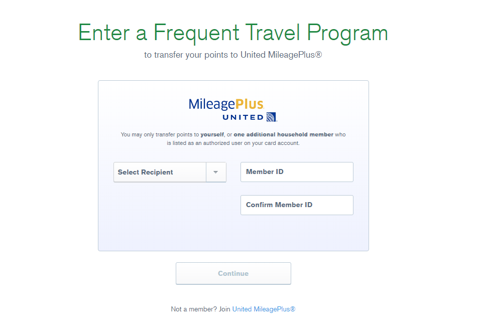 Transfer Chase Points To United At A 1 Ratio Through Ultimate Rewards