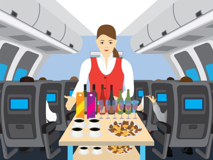 In Flight Dining Service