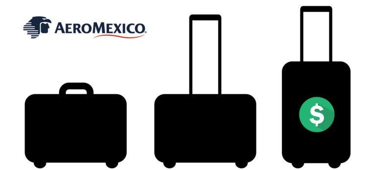 AeroMexico baggage fees
