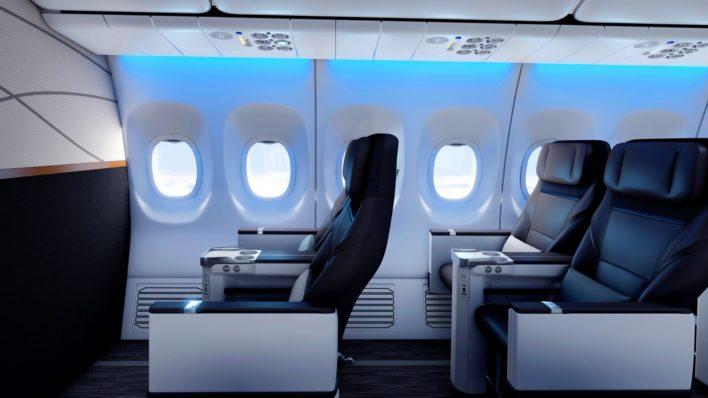 Alaska Airlines New First Class