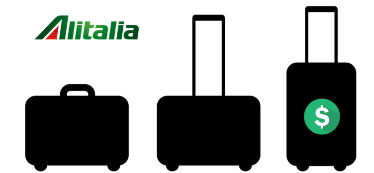 Alitalia baggage fees