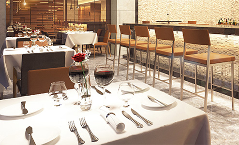 American-Airlines Flagship First Dining