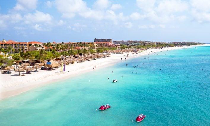 use southwest points Aruba