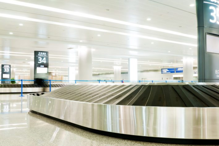 Baggage Claim Area Lost Delayed Luggage