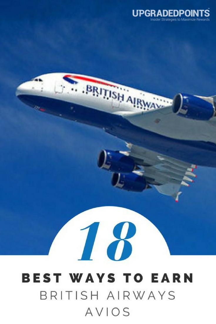 Best Ways to Earn British Airways Avios