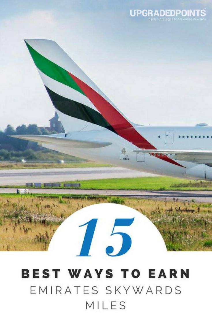 Best Ways to Earn Emirates Skywards Miles