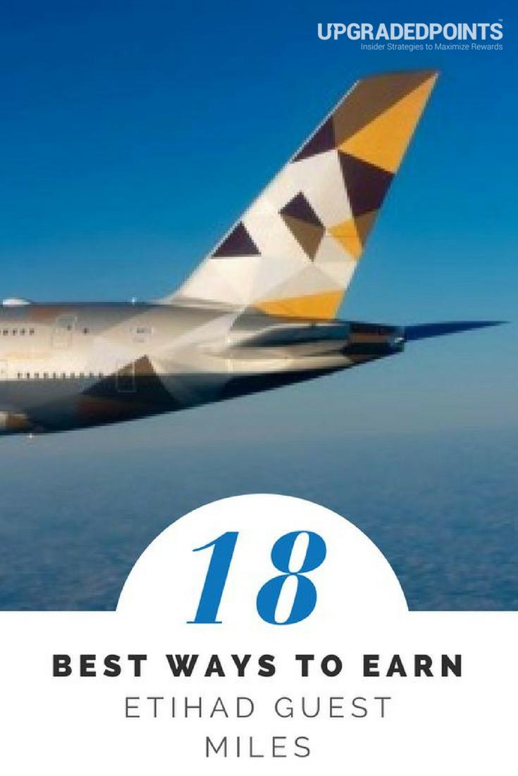 18 Best Ways To Earn Lots of Etihad Guest Programme Miles [2019]