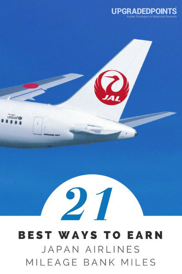 Best Ways to Earn Japan Airlines Miles