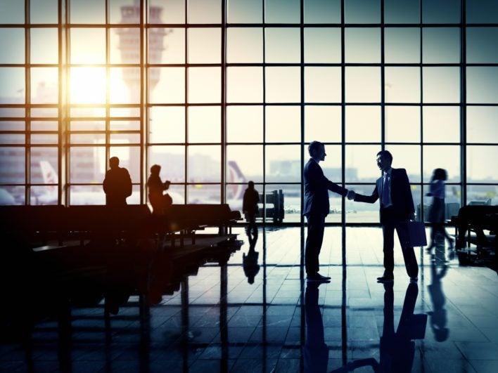Business Traveler Airport
