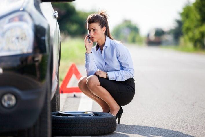 Flat Tire Roadside Assistance