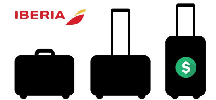 Iberia baggage fees