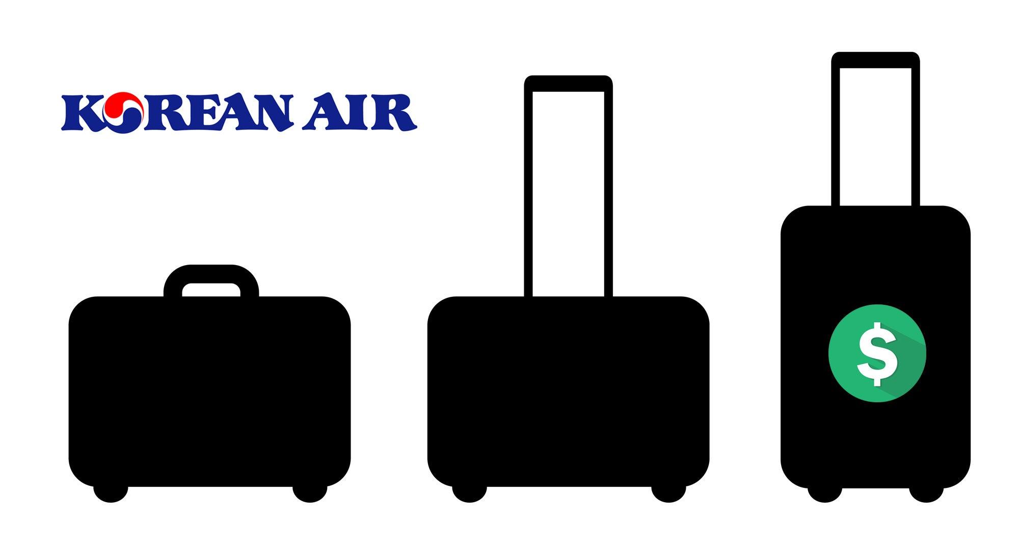 bas prix 238bf de425 Korean Air Baggage Fees & Policy [2019 Update]