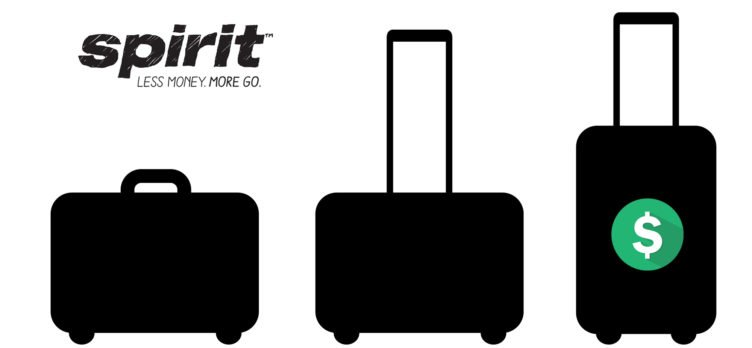 Spirit baggage fees