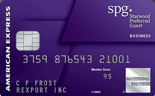 Spg business credit card from amex review 25k bonus points reheart Images