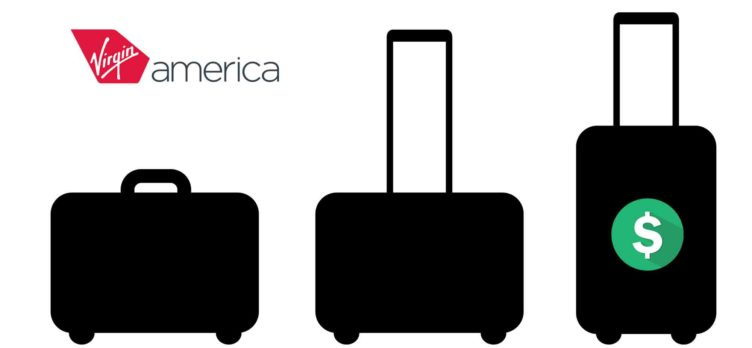 Virgin America baggage fees