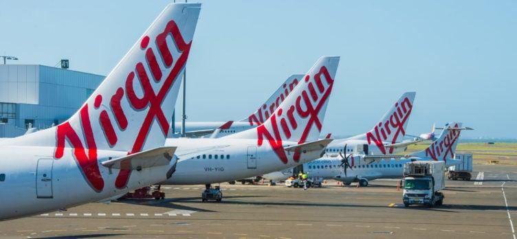 Virgin Australia Planes at Airport
