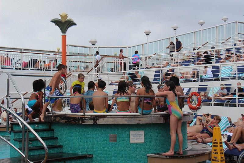 cruise hot tub