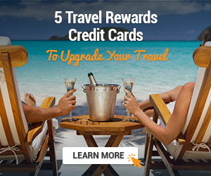 5 travel rewards credit cards