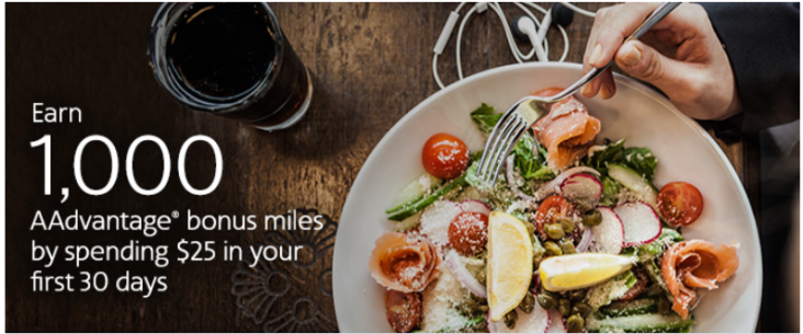 Using American Aadvantage Dining For More Miles 2020