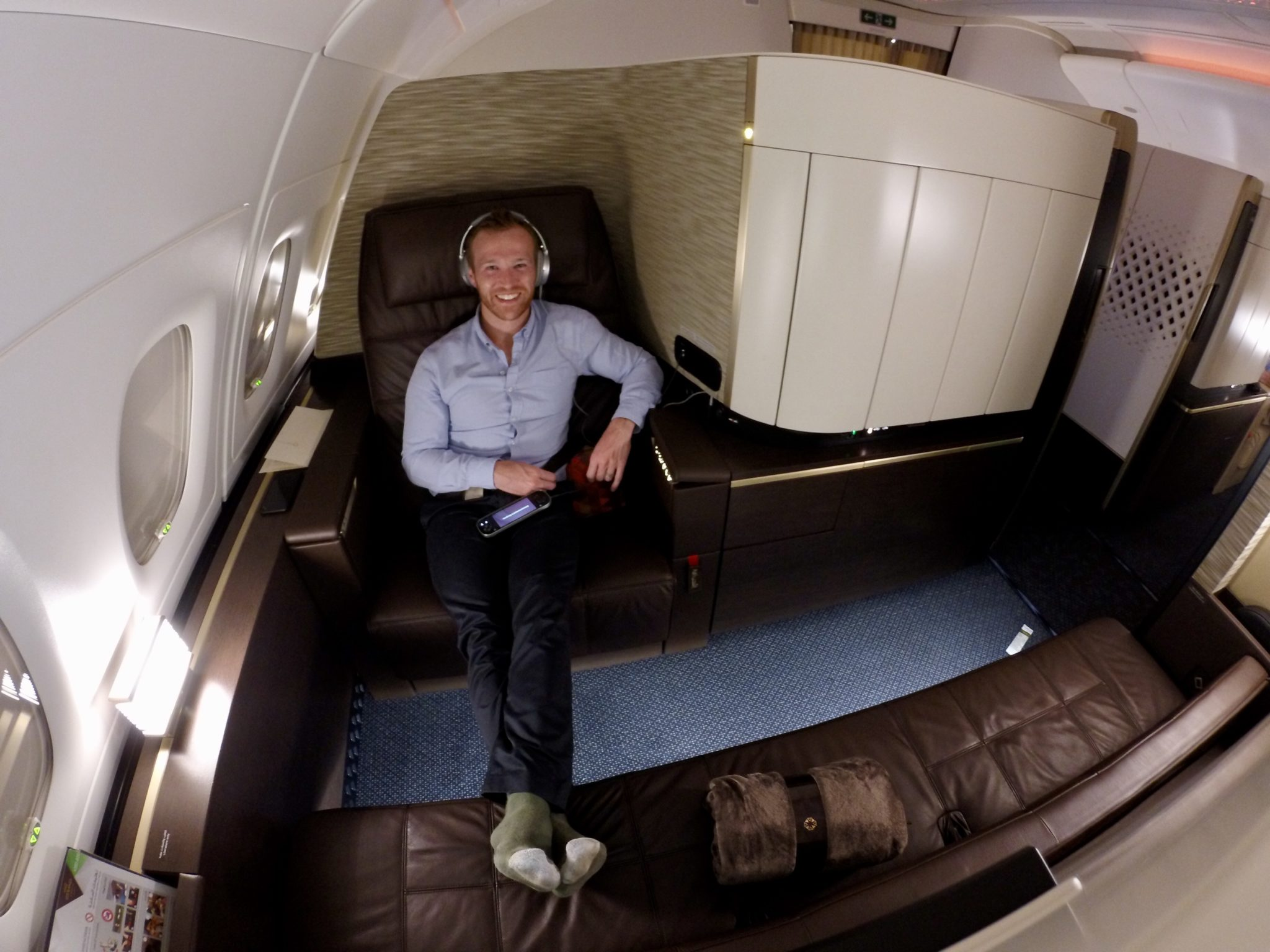 Etihad First Class Apartment A380 Review Syd To Auh 2020