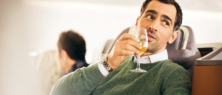 Lufthansa-Business-Class-Wine