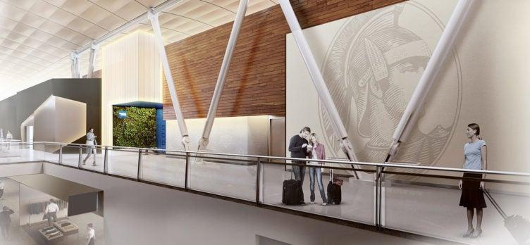 The Centurion Lounge - Rendering (JFK)
