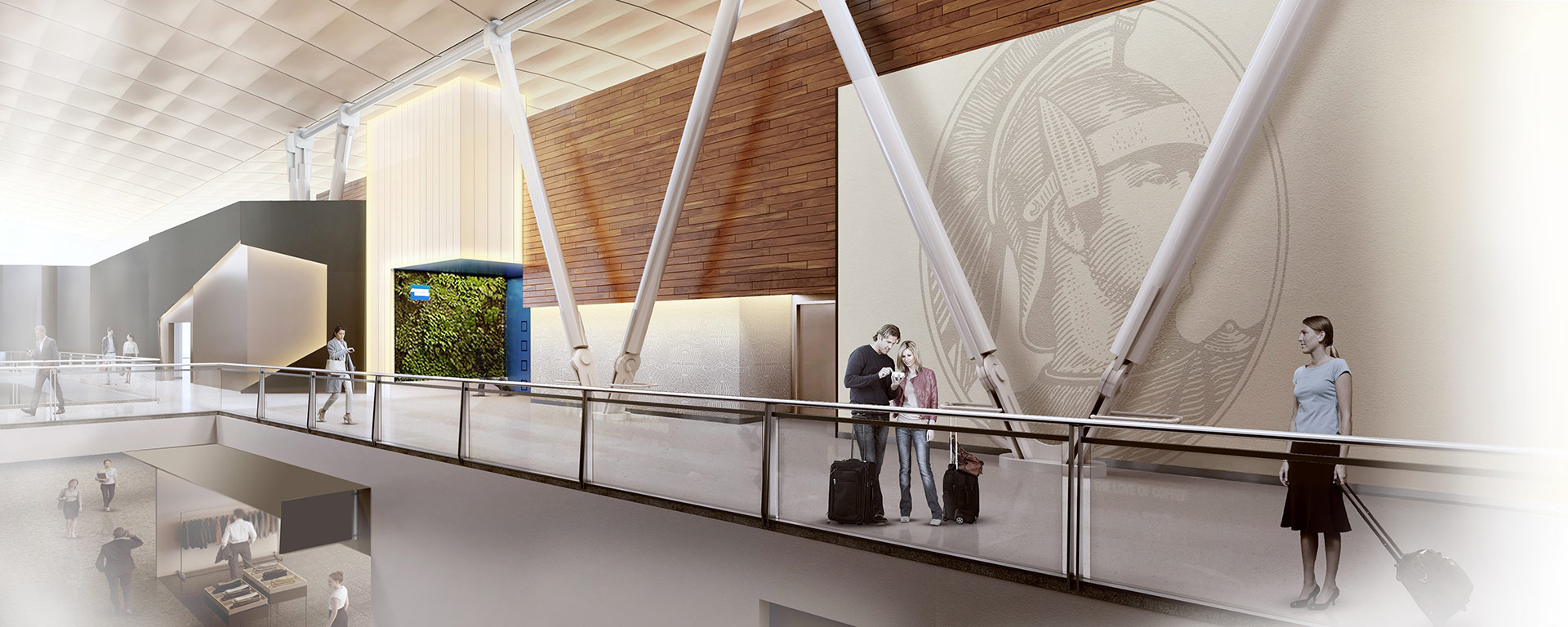 The Centurion Lounge - Rendering (JFK)