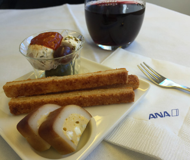 ANA Business Class Catering