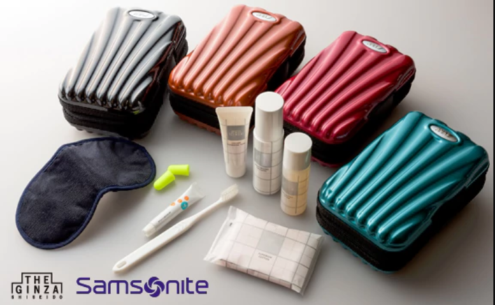 ANA Samsonite First Class Amenity Kit
