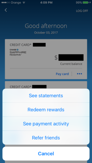 Chase Mobile App Refer A Friend