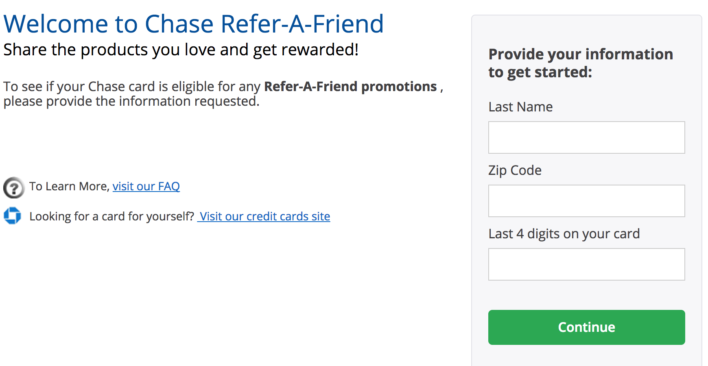 Chase Refer-A-Friend