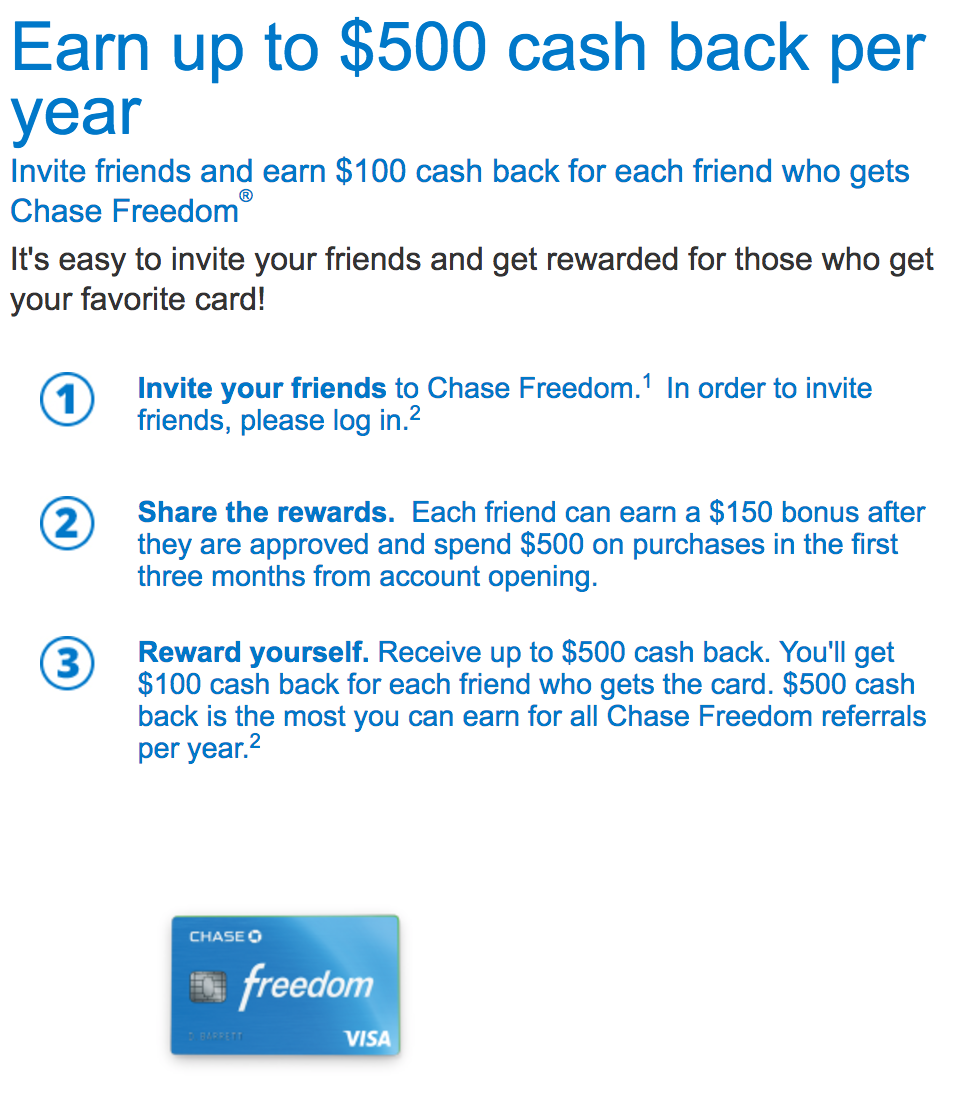 Chase Refer-A-Friend: Earn 50,000 More Chase Points [Each Year]