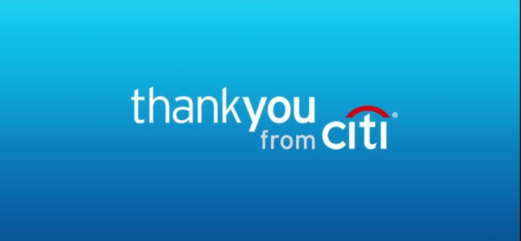 thankyou from citi