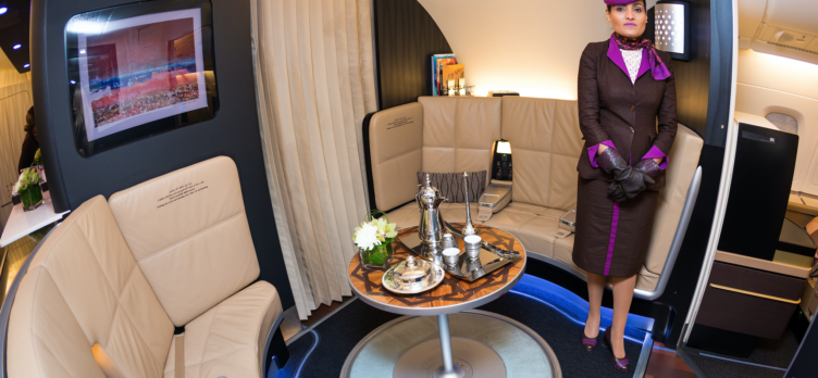Etihad In-Flight Lounge