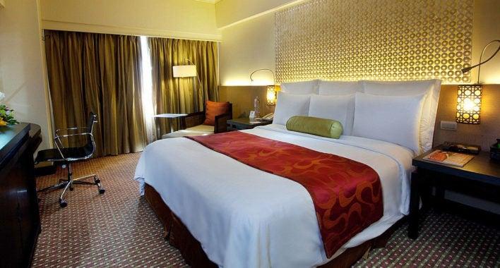 Marriott Rewards free hotel stay